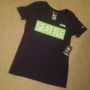 Nike Seattle Seahawks shirt top